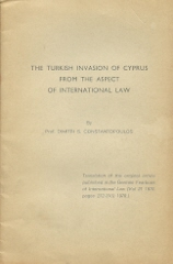 THE TURKISH INVASION OF CYPRUS FROM THE ASPECT OF INTERNATIONAL